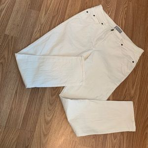 Pure Collection Jeans - Pure Collection Slim Leg Jean White 5 Pocket